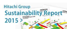 Hitachi Group Sustainability Report 2015